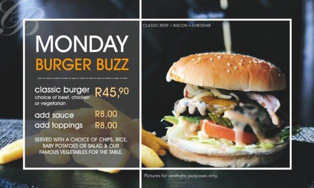 Monday Burger Madness