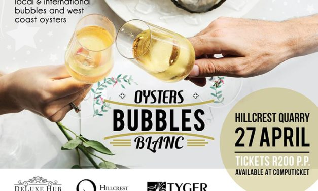 Oysters, Bubbles and Blanc Festival, 27 April