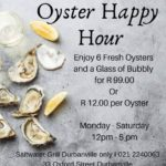 Oysters Happy Hour