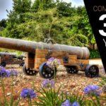 300 Year Old Cannon Firing at Signal Gun!